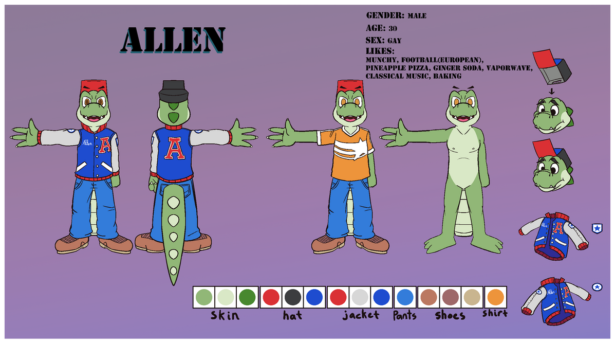 Allen Reference 2018 by BlooperKoopa19