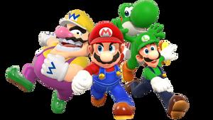 Super Mario 64 DS Render