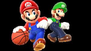 Super Mario Sports Mix Render
