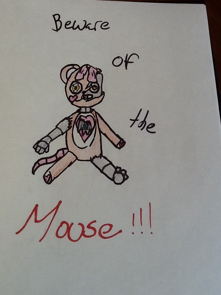 Beware of the mouse  by Chewbachu