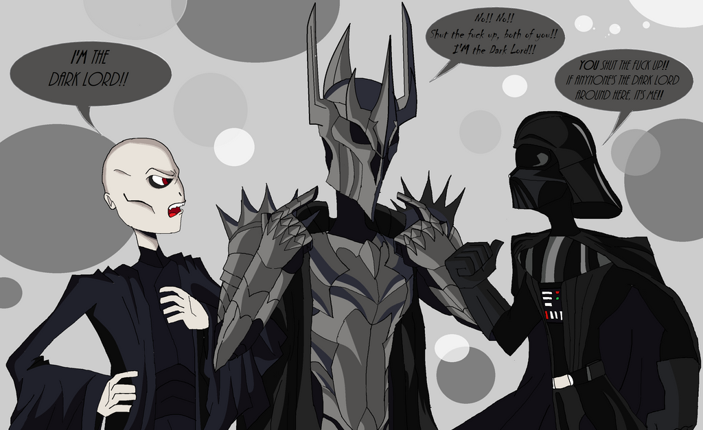 The Dark Lord(s) by Jhonny-Manic