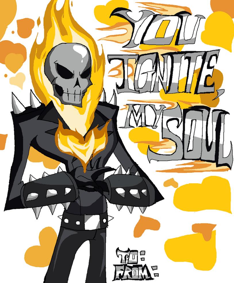 Marvel Valentine: Ghost Rider By Jhonny Manic ...