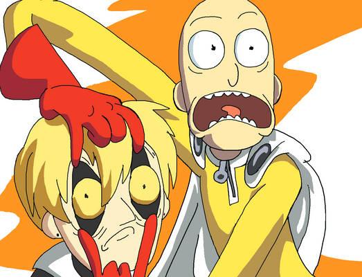 Saitama and Genos