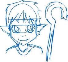 Yolg'on: Demon Prince of Mischief Sketch by Keilanify