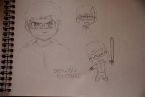 Brandon sketches by Keilanify