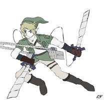 Attack on Hyrule by Keilanify