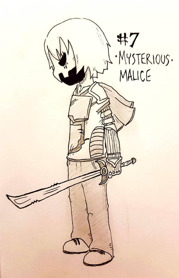 OC-tober Day 7: Most Mysterious by Keilanify