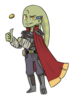 Star Wars RPG Character: Dex Myk by Keilanify