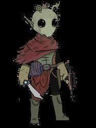 Star Wars RPG Character: Gaskin Gra by Keilanify