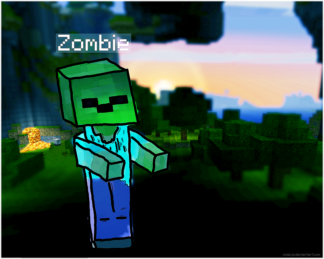 cool wallpapers of minecraft zombies - photo #19