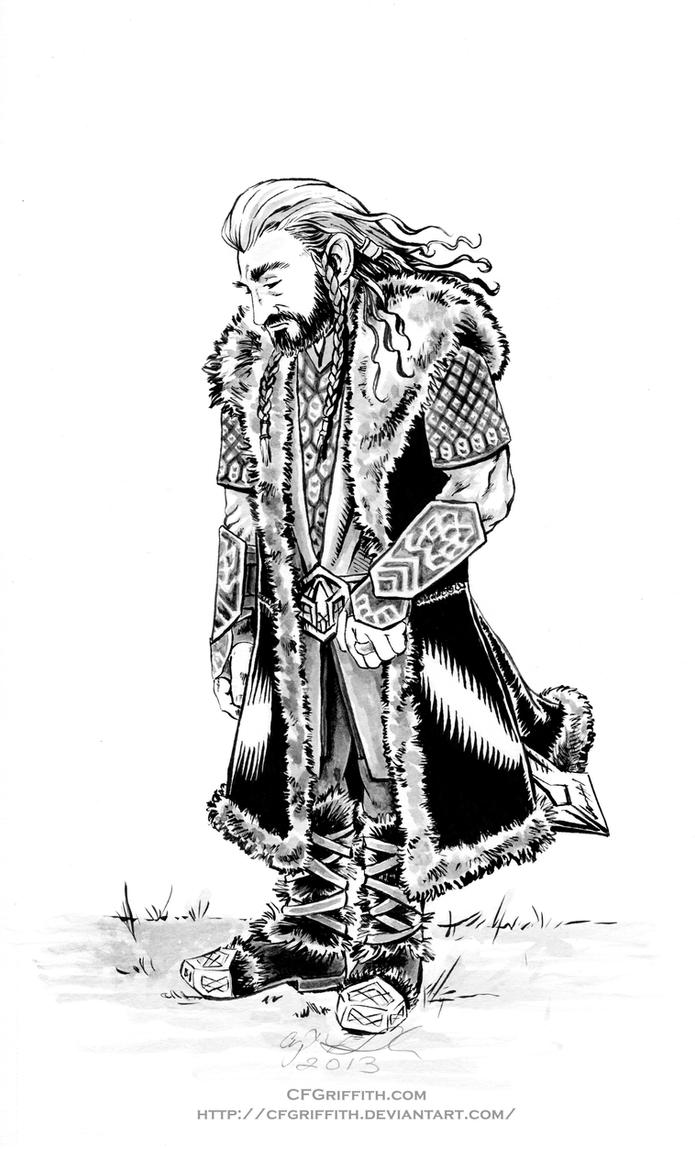 Thorin Oakenshield: Weight of the World by cfgriffith