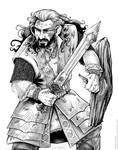 Azanulbizar Thorin Oakenshield