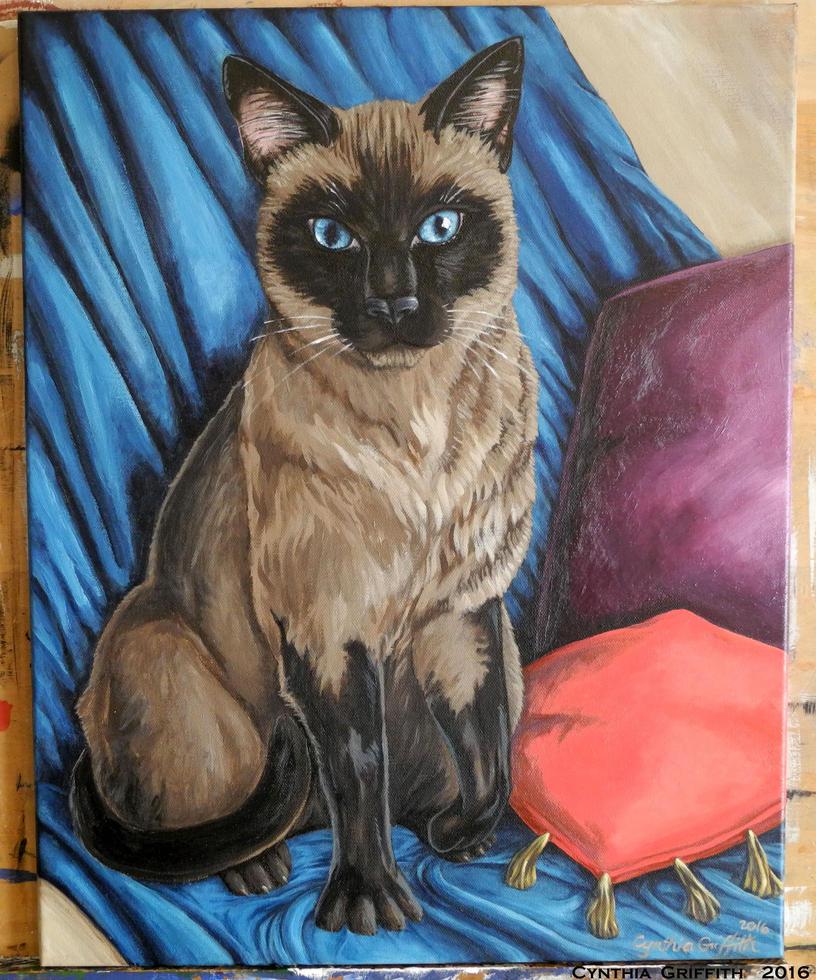 Preeda Portrait Gift by cfgriffith