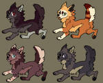 Mixed Canine Adopt Batch 2 closed