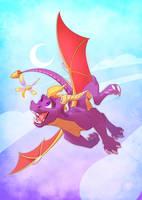 Spyro the dragon by kyander