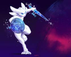 Space warrior by kyander