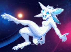 Floating through the Universe by kyander