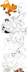 Sketchdump by kyander