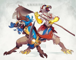 Pirates [ARRR] by kyander
