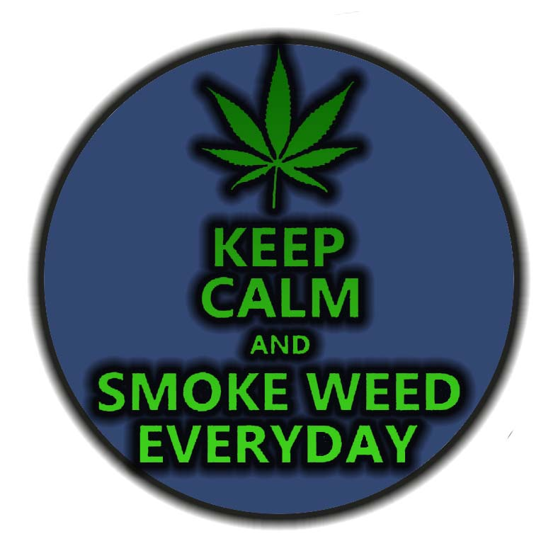 Keep Calm Smoke Weed By Babs9
