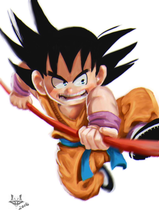 Young Goku by peatman2020