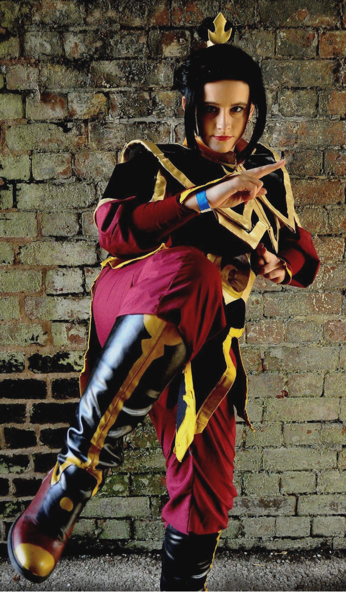 Me as azula #3 by Drawings-of-a-madman