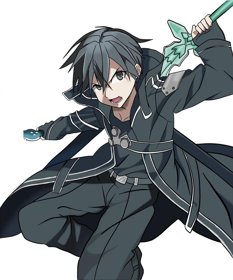Kirito Sword Art Online By Rafadrawing On Deviantart