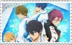 Free! Iwatobi Swim Club stamp 3 by xXJadetheWolfXx