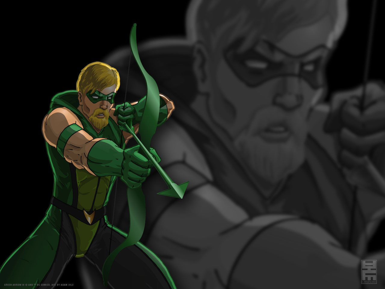 green arrow wallpaper by ihlecreations on deviantart
