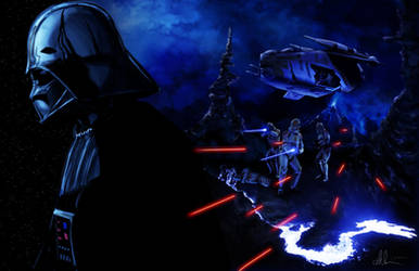 Vader Remembers Trialis by Ihlecreations