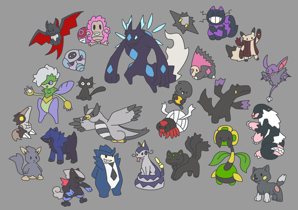 Dark Fakemon by Ironwolf09