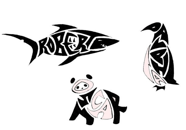 NameAnimal Tribal Tattoos by Ironwolf09 on deviantART