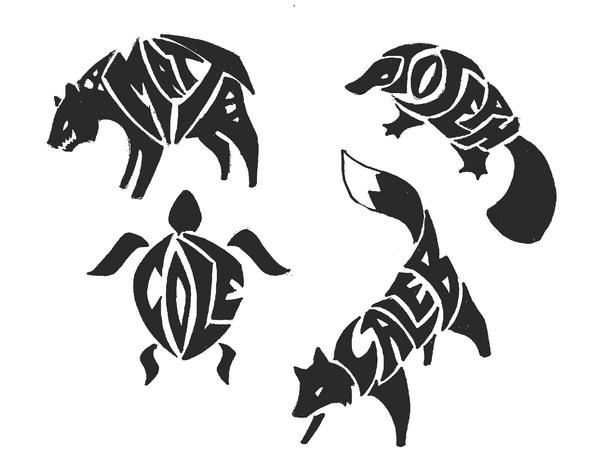 Animal tribal - Imagui