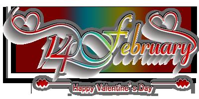 14 February Valentines Day