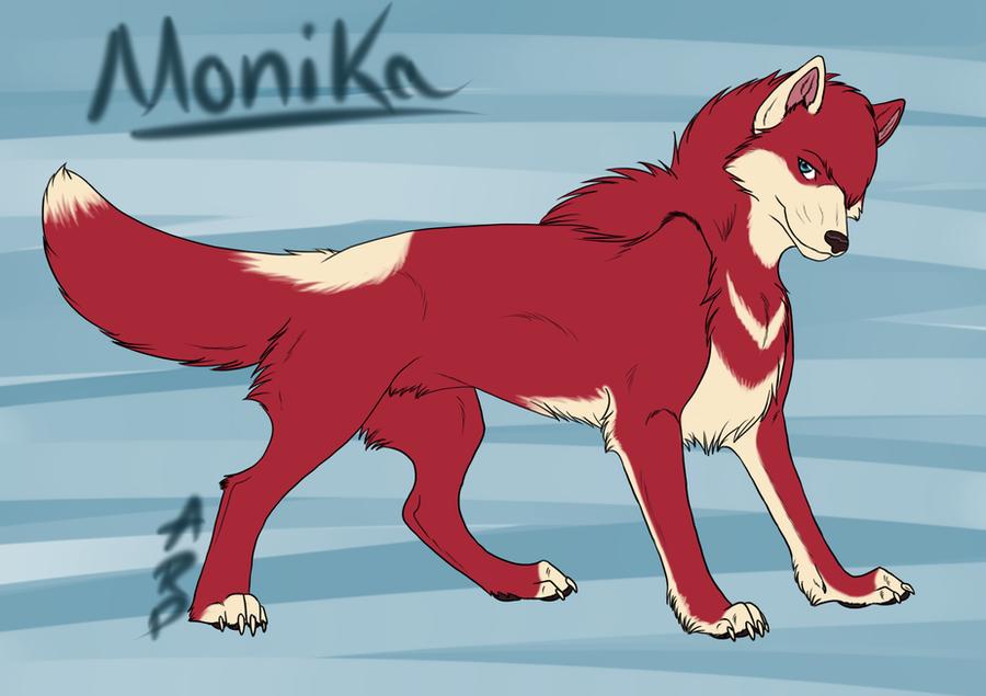 Star Fighter - Monika by littlezombiesol