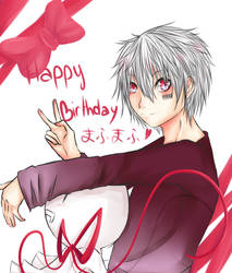 Mafumafu birthday by MllxYume