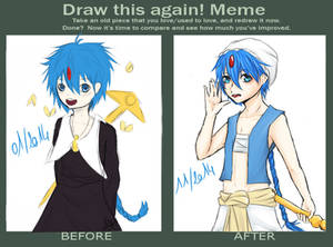Before - After : Aladdin of Magi