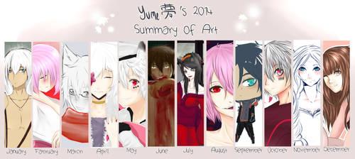 My Summary Art 2014