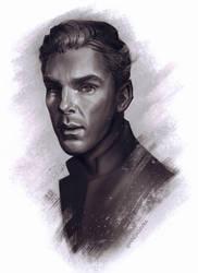 Benedict Cumberbatch by hindasavra