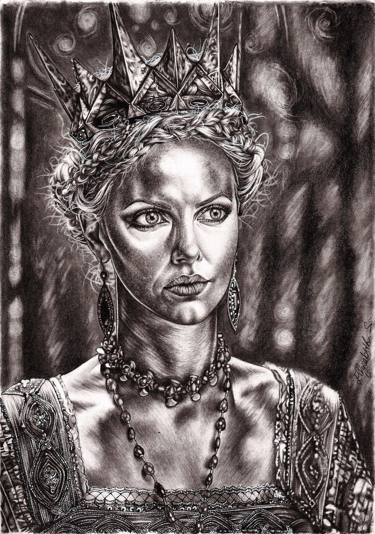 Queen Ravenna by vvveverka