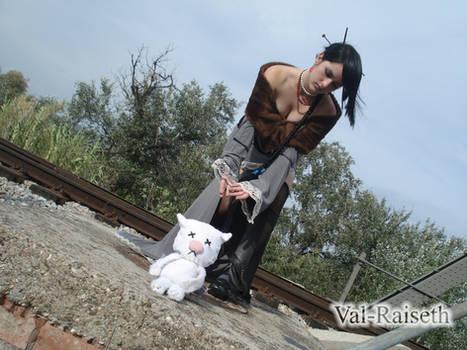 Lulu cosplay and Moguri