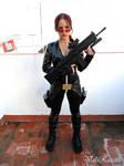 Lara Croft catsuit outfit