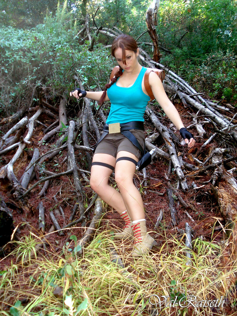 Cosplay Lara Croft by Val-Raiseth