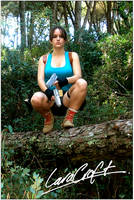 Lara Croft cosplay Jungle by Val-Raiseth