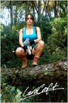 Lara Croft cosplay Jungle