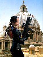 Lara Croft Cosplay - Saint Paul by Val-Raiseth