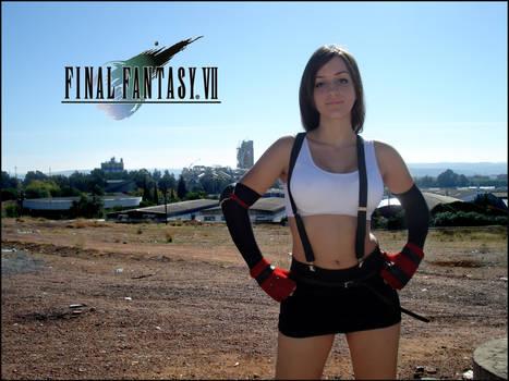 Cosplay Tifa Final Fantasy VII