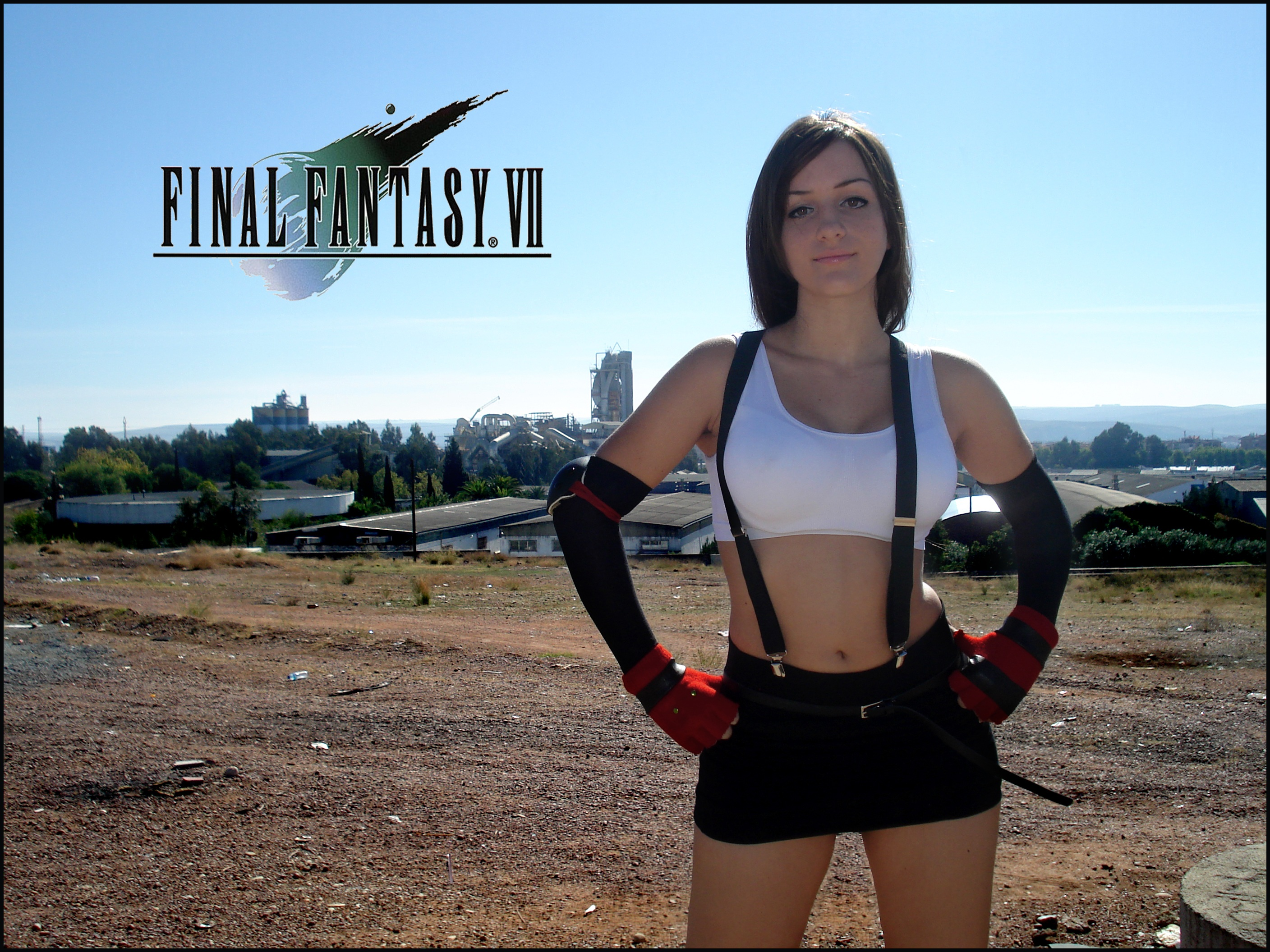 Tifa Cosplay FFVII by Val-Raiseth - 1681.2KB