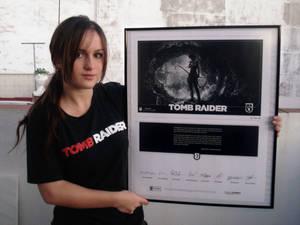 Litographie Tomb Raider 2013