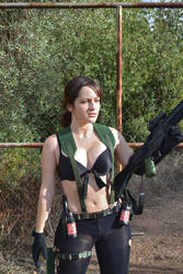 Quiet from MGS cosplay